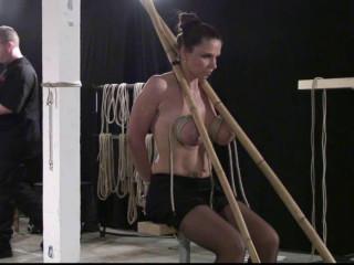Xtreme Breast Bondage for Bettine - part 2