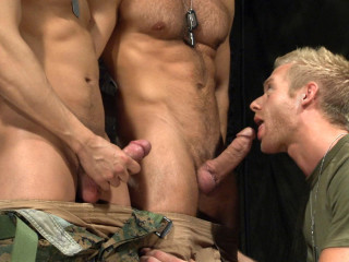 TitanMen Special Hunter Marx with Casey Daniels and Archer Quan, and Troy Daniels and Jayden Grey