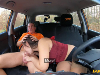 Sofia Lee - Curvy brunette sucks hot cock FullHD 1080p