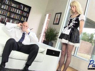Lily Demure - Subordinated TS Maid Does What She Is Told