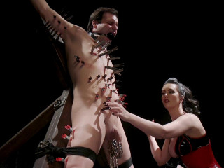Cherry Torn - A Divine New Years- Cherry Torn celebrates with slave's screams