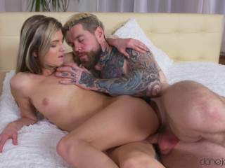 Dean Van Damme, Gina Gerson - Sensuous blowjob and intimate plumb FullHD 1080p