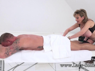 Lady Sonia Fucked Hard On The Couch