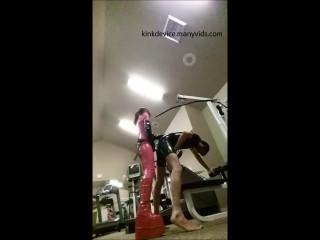 Kinkdevice karins public gym peg