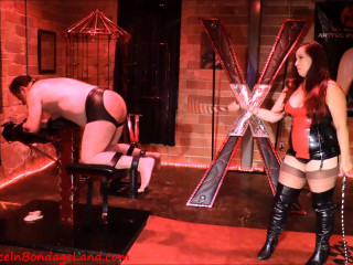 Whipping Boy SPH - Maitresse Renee and Miss Sheri Darling Pt 2