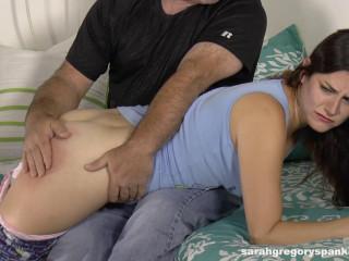 SarahGregorySpanking - Addie's Bedtime Spanking