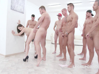 15on1 Group sex with Gabriella