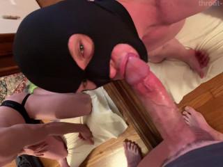 throat-it-boy - Sexy Bandit Cocksucker - 720p