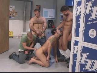 Hot orgy with most popular models