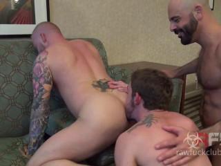 Adam Russo, Kevin Tyler, Dallas Parker