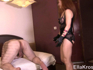 Gimp Gets His Cherry Rump Stuffed with a Strap-On! (Feb 27, 2017) 1080p