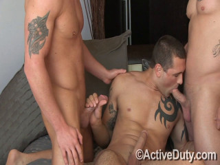 Domenic, Nick Tower and Tanner
