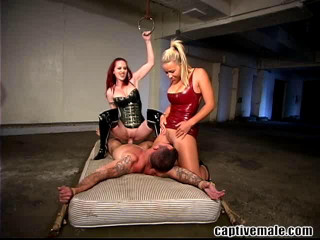 Daac Ramsey, Berlin And Robyn Truelove Two Dommes One Slave