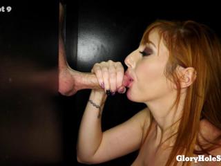 Lauren's First Gloryhole