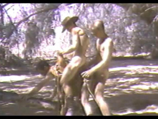 Stud Struck Bareback (1986) - Blake McDonald, Chris Allen, Peter Demetri