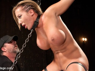 Slut Begs to Cum in Bondage!