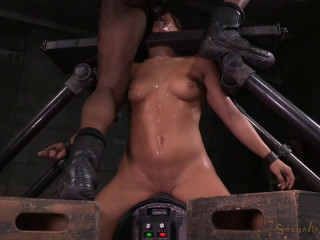 Utter Desruction By Dick For Abella Danger As She Is Throatboarded