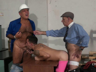 Red-hot 3some  Miki, Turhan & German Kessler (720p)