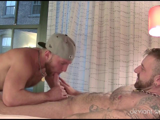 Muscle Pups 1st Threesome (2013)