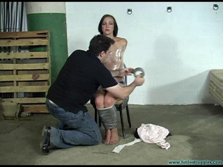 Illustrious Rouge Spanked, Taped, Tongue Clamped - Part 2