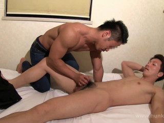 Hunk-ch Part Gv-Tht7004 - Muscled stud gets fucked (again!)