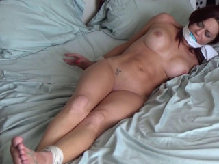 Hogtied To Cum By Her oldster! - Sarah - Full HD 1080p