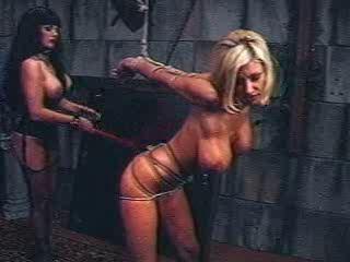 B & D Delectations -  Brittany Andrews Restrain bondage Veteran