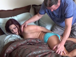 Sarah Panty Gagged and Groped By Her oldster - Full HD 1080p