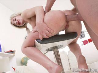 Anjela Vital - Cute Anjela Vital's first anal fuck FullHD 1080p