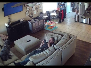 Living Room MILF Fucked