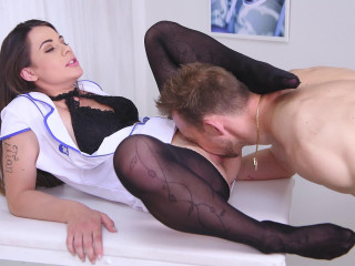 Giorgia Roma - Nylon Makes Her Patient Cum (2018)