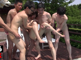 Momoka Outdoor Orgy