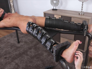 Tickling-Submission - Naked Gagged & Vibrated