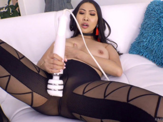 Lovely Asian Doll Sharon Lee Gets Her Ass Hammered