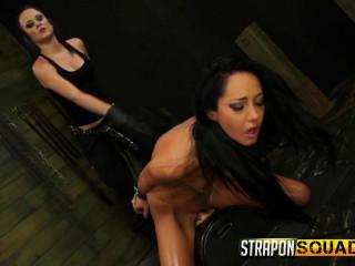 StraponSquad - Jun 23, 2015 - Sabrina Banks Loves Lesbo domination & Bondage & discipline Joy