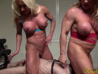 Ashlee Chambers and Kinky Kat - It's A Threesome. With A Twosome In Charge