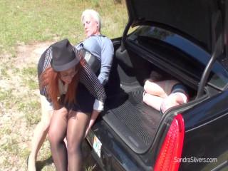 Sandra Silvers, AJ, Ruth crooked cop