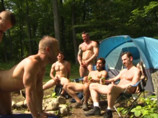 Urban Fuckers In Outdoor Orgy