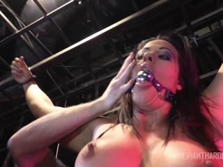 Holly Heart harsh buttfuck Bondage & discipline