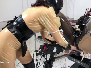 Tight bondage, domination and torture for sexy hot slave model