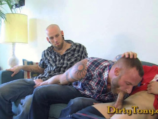 dt - Derek Parker Gets Double Stuffed