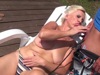 Granny a whore