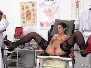 Emilia (19 years women gynecology exam)