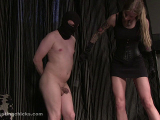 Domina Hera - Painful Cock Whipping