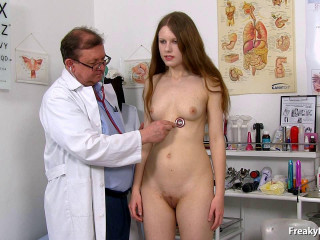Anabella (19 years girls gyno exam)