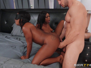 Interracial Rivalry With Harmonie Marquise & Tori Montana