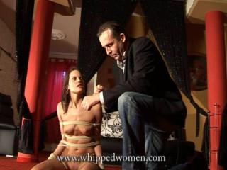 Extreme Bondage Whipping