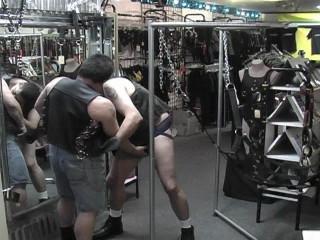 Plus-size gay hunks
