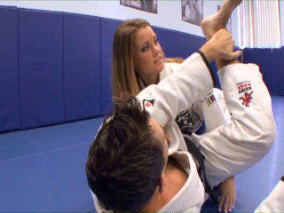 Megan wasn't even Attempting to lurk her tits under that judo