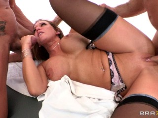 Hot Gang Bang For A First Time